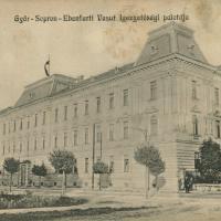 """""""A Győr-Sopron-Ebenfurti Vasut Igazgatósági palotája"""""""