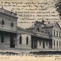 A Győri vasút állomása egykor