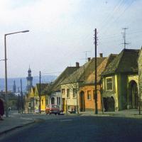 A Pozsonyi út az 1970-es években