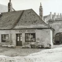 A Rózsa utca 2-es számú ház az 1950-es években