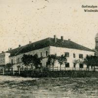 A Szélmalom kaszárnya az 1900-as évek elején
