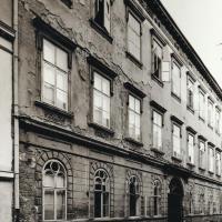 A Szent György utca 11-es számú ház az 1950-es években
