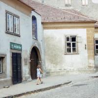 A Szentlélek utca 13-as számú ház 1980 körül