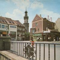 A Várkerület az Előkapunál az 1980-as években