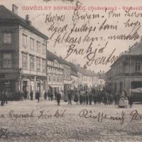 A Várkerület és az Ötvös utca találkozása az 1900-as évek elején