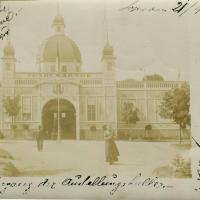 Az 1904-es Ipar- és Képzőművészeti kiállítás főcsarnoka