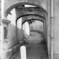 Az Árvaház köz egy részlete 1991-ben
