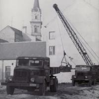 Az építkezés előmunkálatai