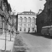 Az Erzsébet utca az 1970-es években