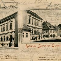 Az Ógabona tér és a M.Wurm vendéglő