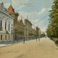 Deák téri részlet az 1900-as évek elejéről