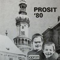 Dr.Friedrich Károly újévi képeslapja - 1980