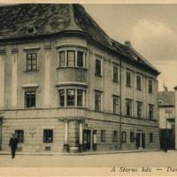 Fő téri részlet a Storno-házzal