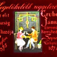 Gruber János csemegekereskedése