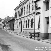 Halász utcai részlet 1991-ből