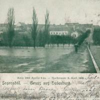 1900. április 8. - Árvíz az Ikván