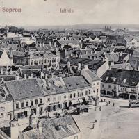 Látkép az 1900-as évek elejéről