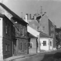 Szentlélek utcai részlet 1970 körül