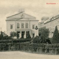 Színház téri részlet 1900 körül