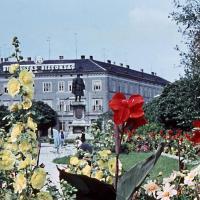 Tavasz a Széchenyi téren