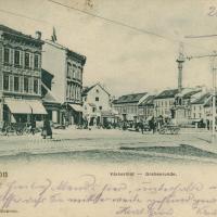 Várkerületi részlet az 1900-as évek elejéről