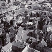 Légifelvétel Sopron egy részéről 1964-ből