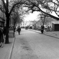 1969-70-es évek. A Kisvárkerület és a piac. (a felvételt Tarcsai Mária készítette, az eredeti negatív a birtokában van. A digitalizálást is ő végezte)