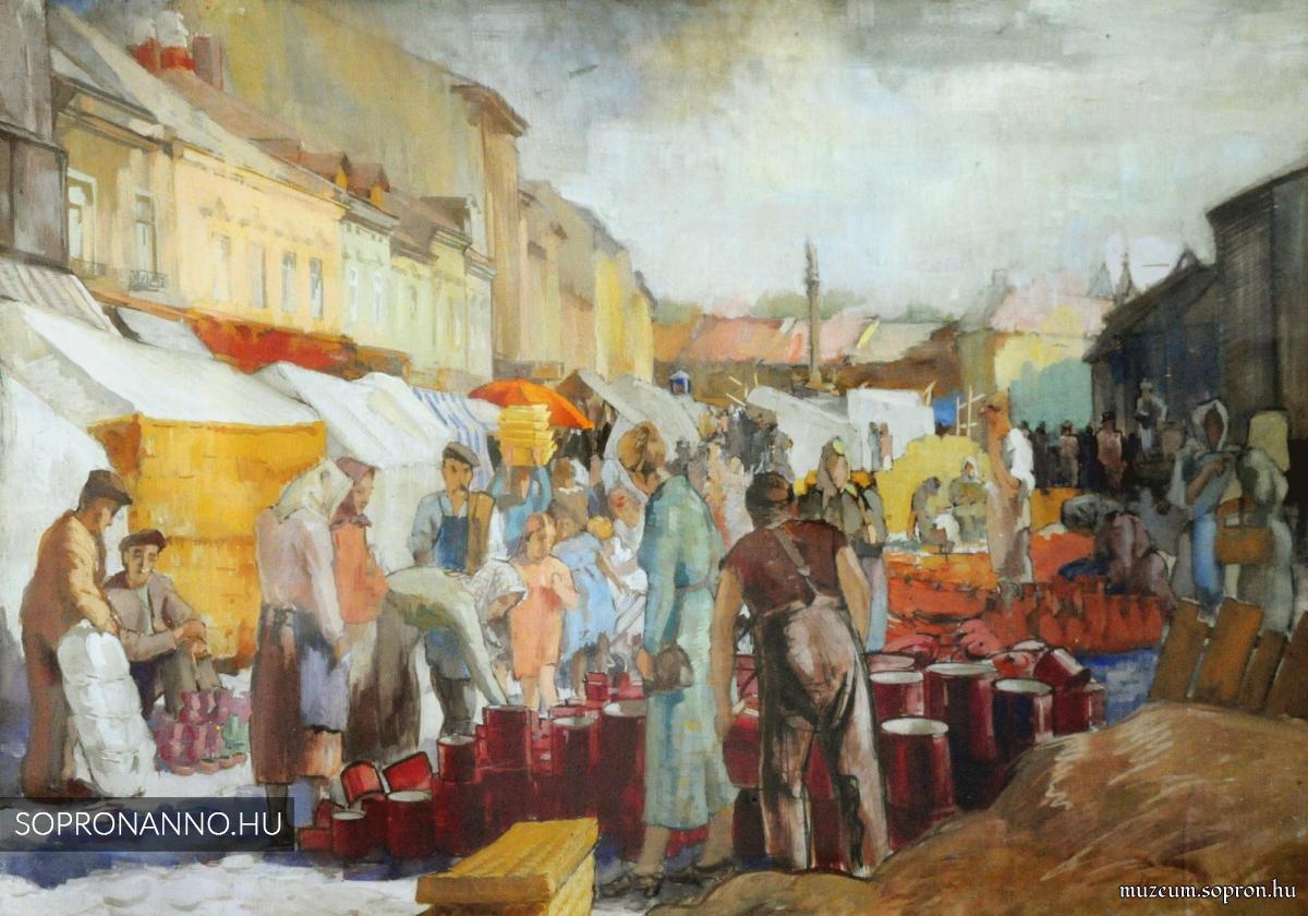 Mende Gusztáv: Utolsó vásár a Várkerületen