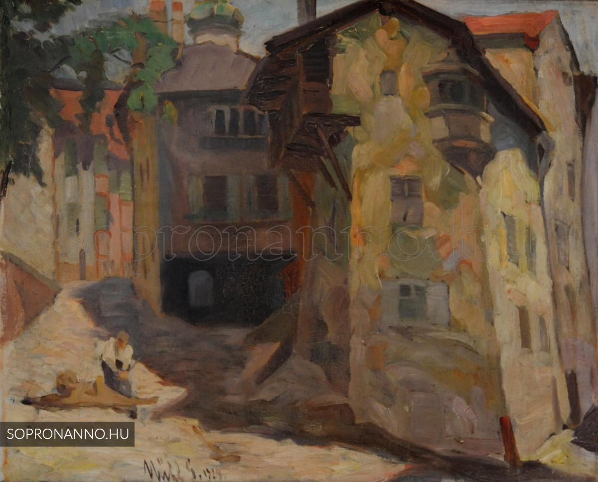 Mende Gusztáv: Rothenburg ob der Tauber