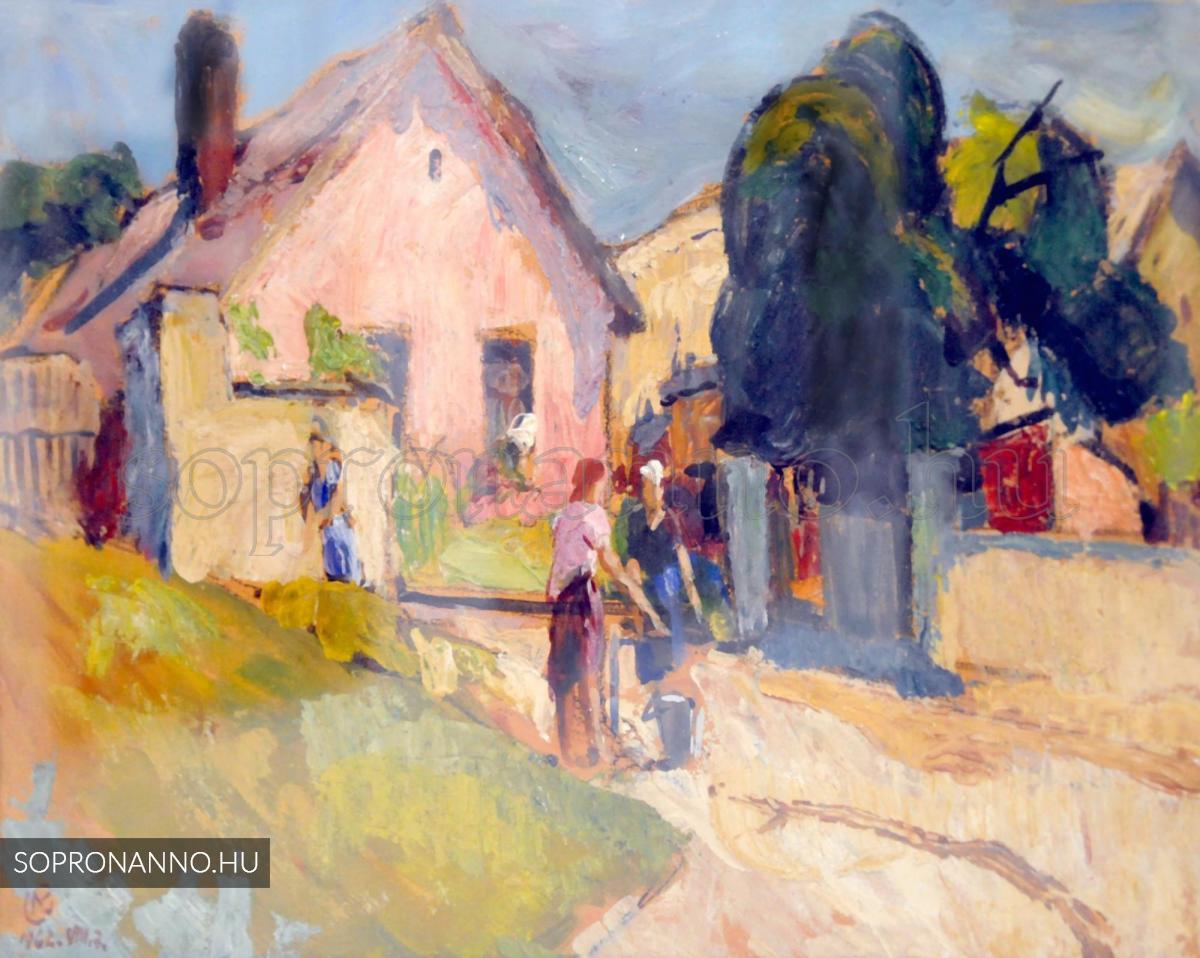 Mende Gusztáv: Rózsaszínű ház