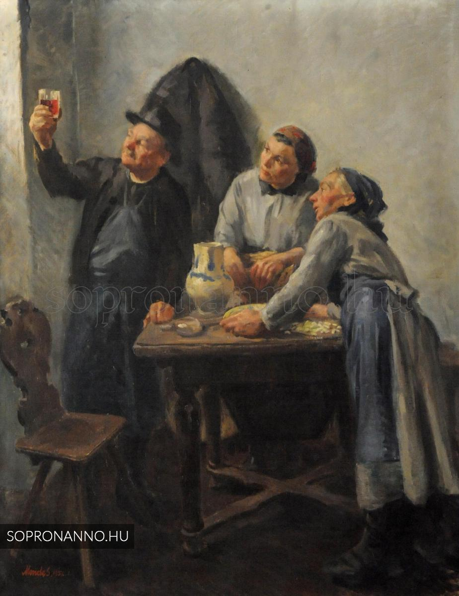Mende Gusztáv: Új bor