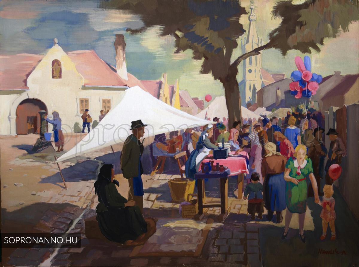 Mende Gusztáv - A soproni Szent Mihály utca