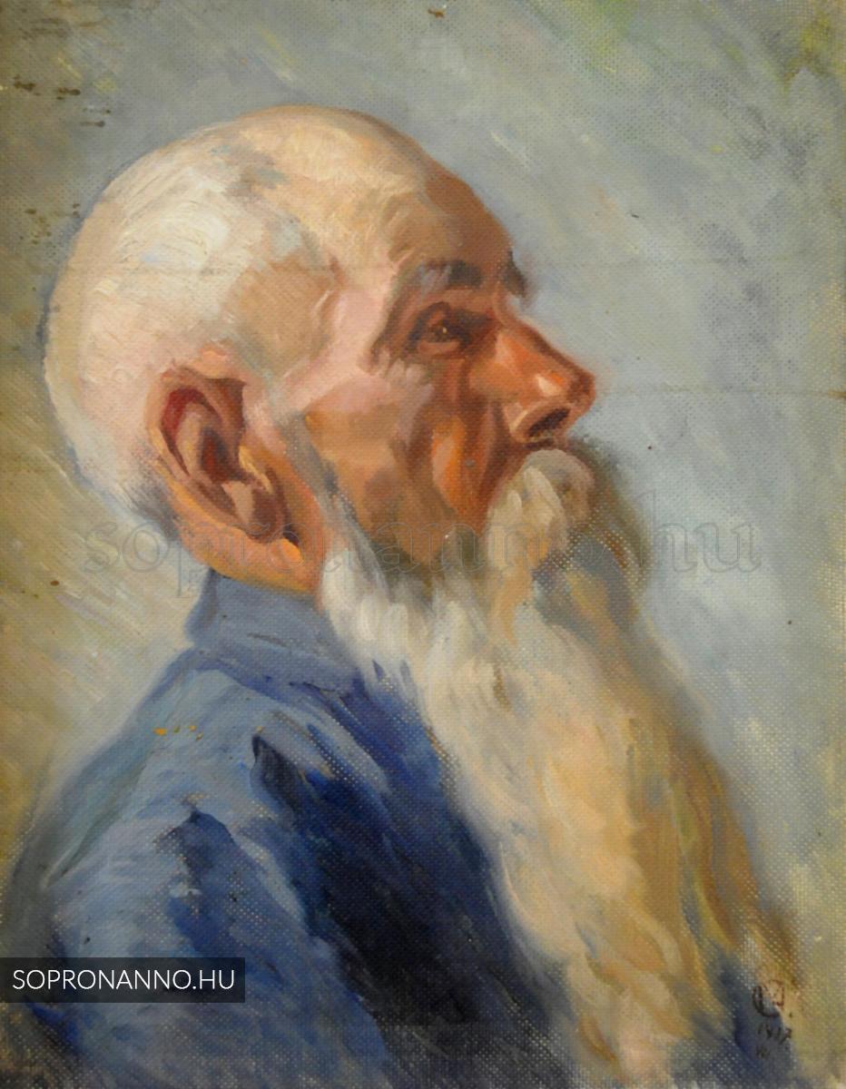 Mende Gusztáv: Tanulmányfej