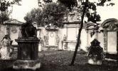 Régi sírkövek az egykori múzeum kertjében