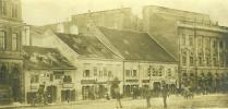 A Várkerület házai a mai Árpád utca helyén